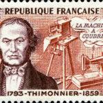 Barthélémy Thimonnier, inventeur de la machine à coudre.