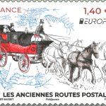Europa 2020, les anciennes routes postales, le  7/05/2020.