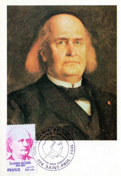 Charles Marie René Leconte De Lisle, Poète. - PHILATÉLIE ...